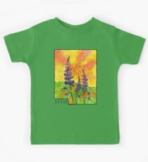 Lupin Flowers Kids Tee