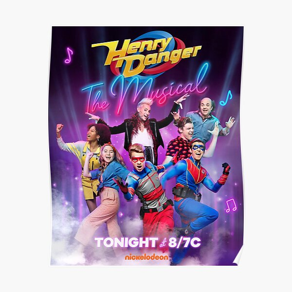 Capitaine Henry Danger Nickelodeon Poster