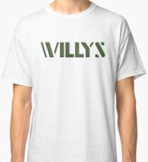 Willys Tailgate Logo Classic T-Shirt