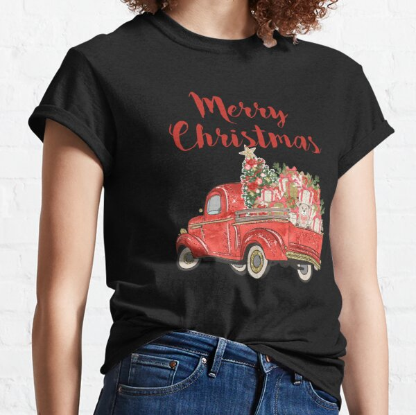 Merry Christmas, Truck Load Of Presents Classic T-Shirt
