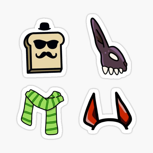 the amigops, toast, corpse, sykkuno, valkyrae Sticker