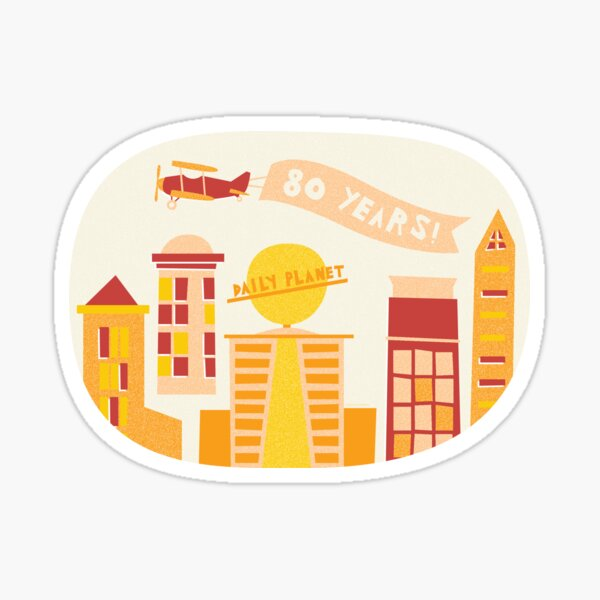 Daily Planet 80 Sticker