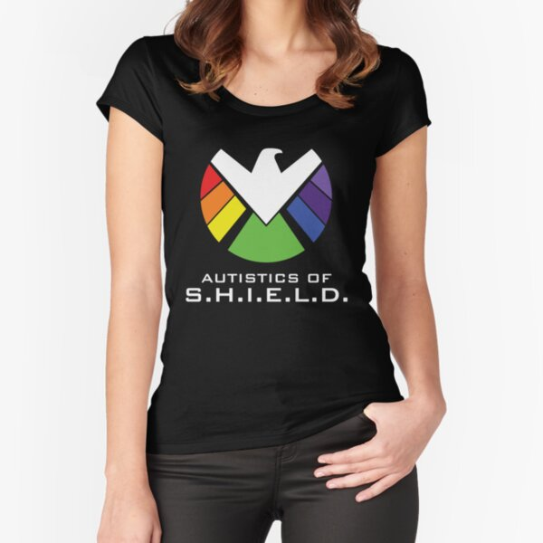 Autistics of S.H.I.E.L.D. Fitted Scoop T-Shirt