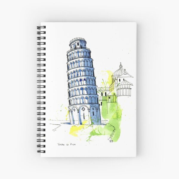 Torre Di Pisa - Leaning Tower of Pisa Spiral Notebook