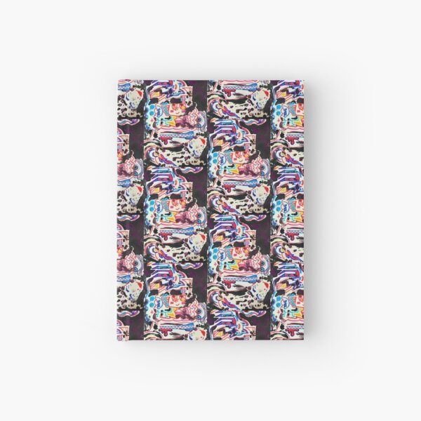 Abstract Multimedia Design Hardcover Journal