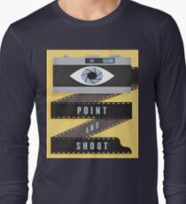 EYES WITH CAMARA Long Sleeve T-Shirt
