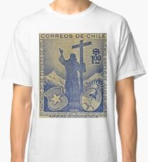 """""""1953 Chile Stamp"""" Classic T-Shirt"""
