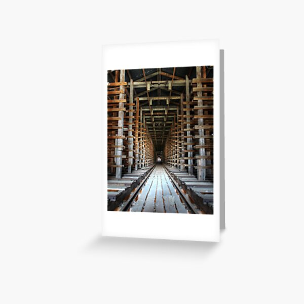 17.3.2016: From Abandoned Factory II Greeting Card