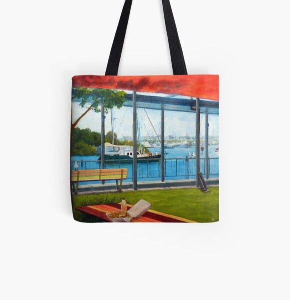 Australian Scene - Life, work, play, relax All Over Print Tote Bag