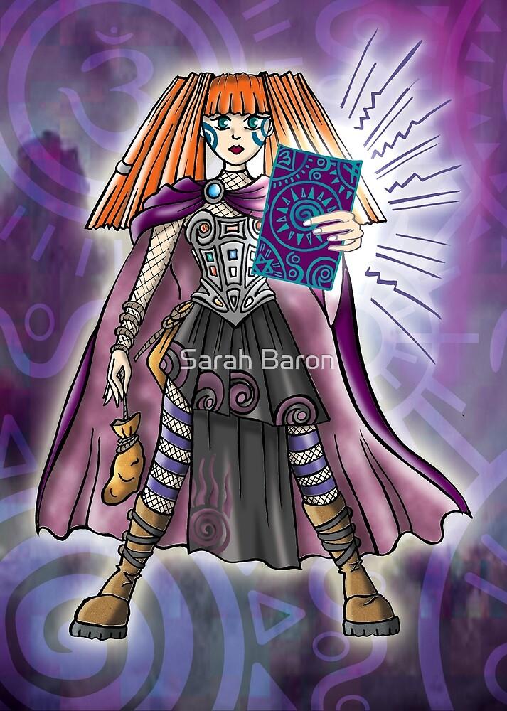 celtic warrior by Sarah Baron