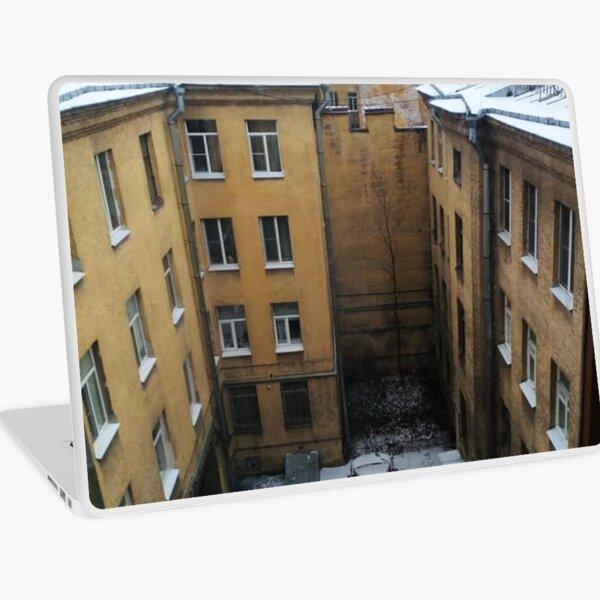 Живопись города. City painting.  Laptop Skin