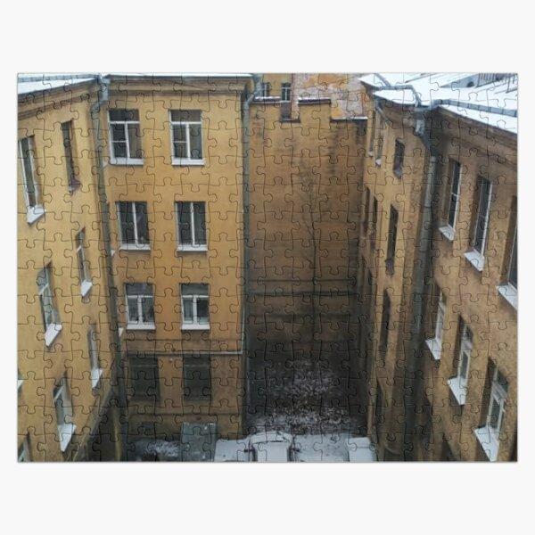 Живопись города. City painting.  Jigsaw Puzzle