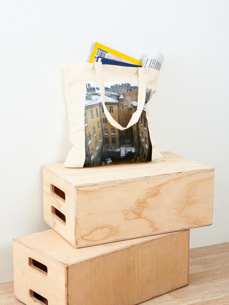 Alternate view of Живопись города. City painting.  Tote Bag