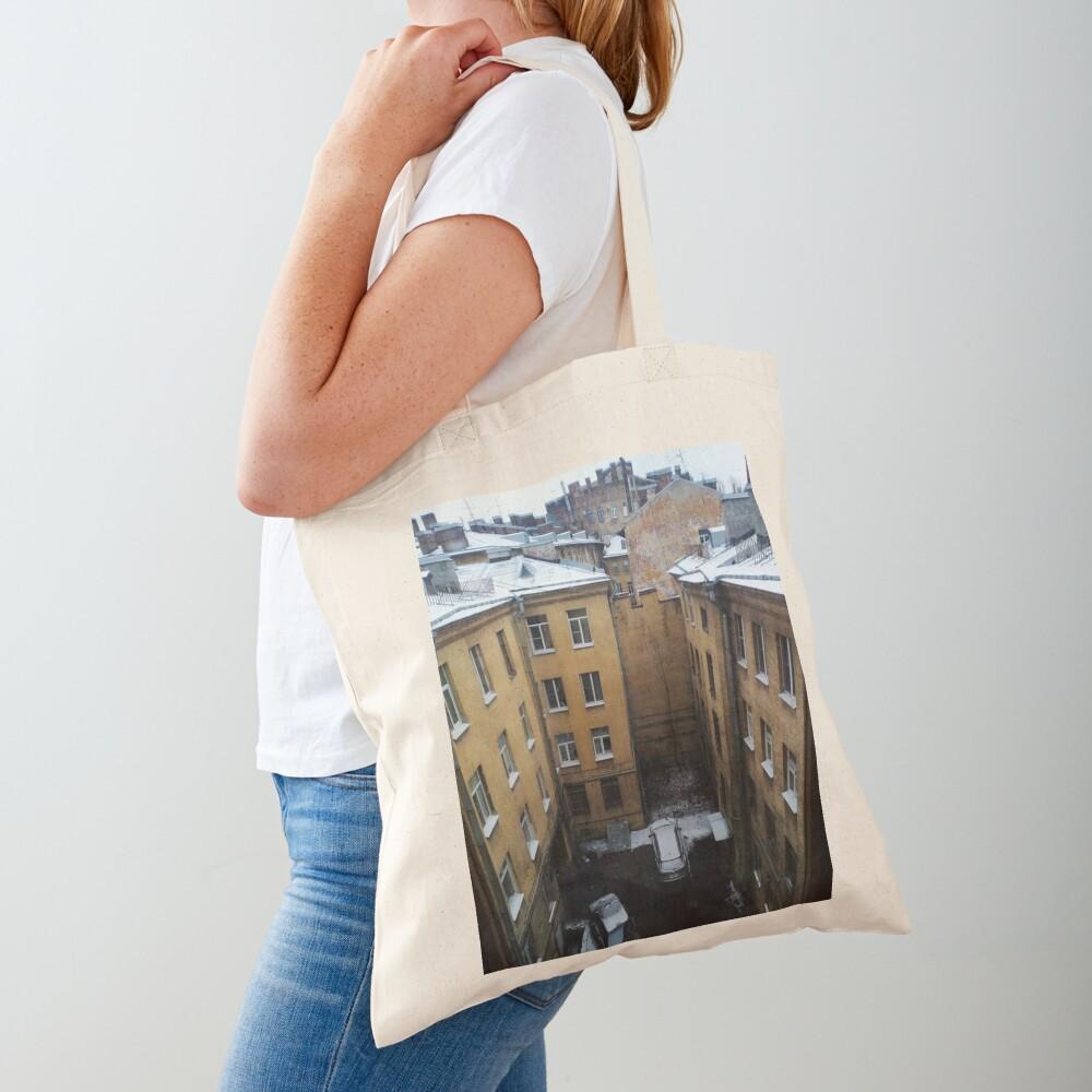 Живопись города. City painting.  Tote Bag
