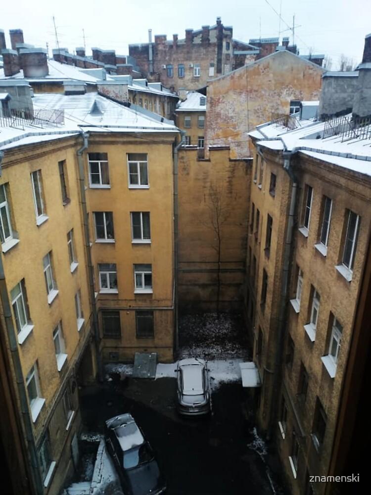 Живопись города. City painting.  by znamenski