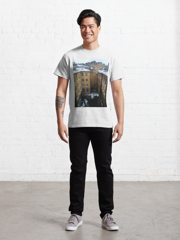 Alternate view of Живопись города. City painting.  Classic T-Shirt