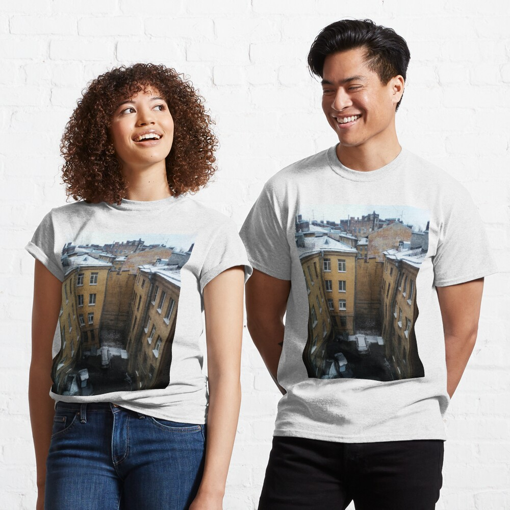 Живопись города. City painting.  Classic T-Shirt