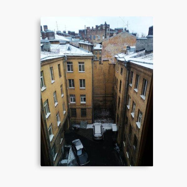 Живопись города. City painting.  Canvas Print