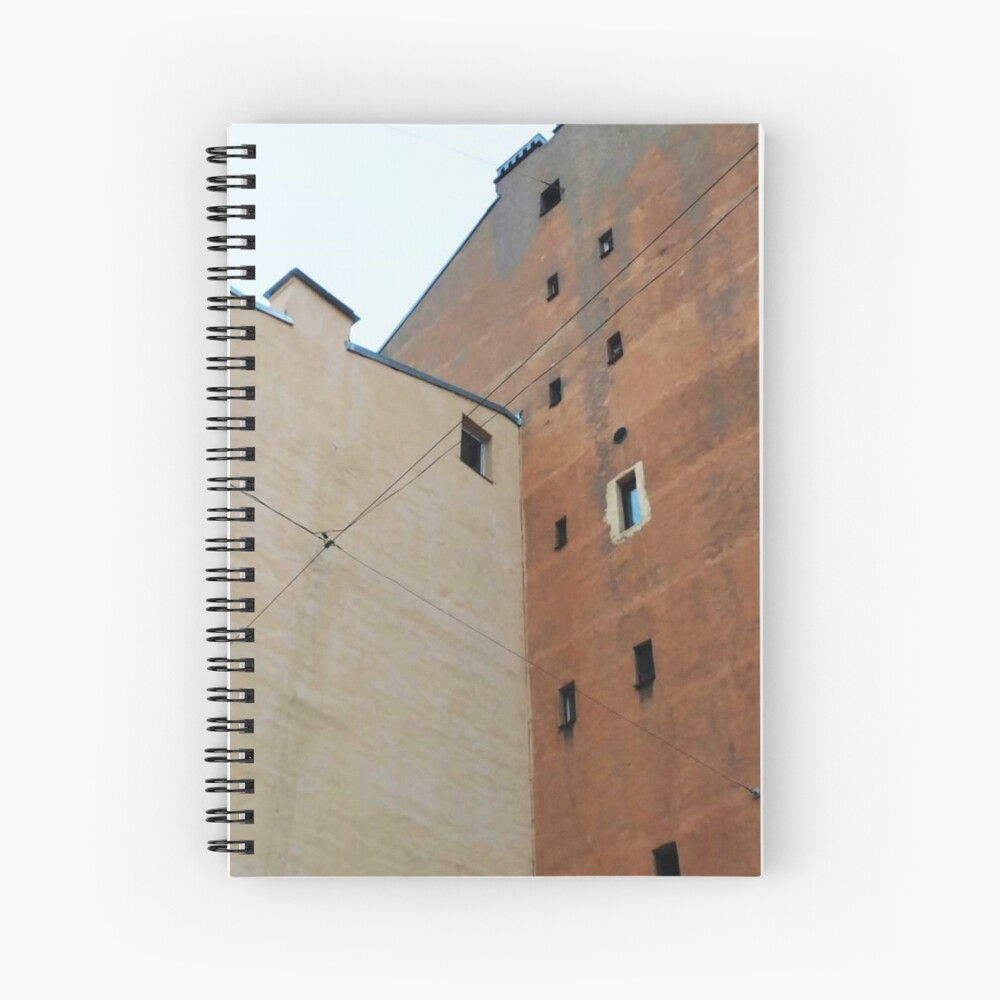 Живопись города, City painting Spiral Notebook