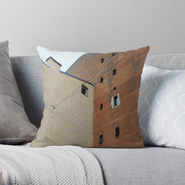 Живопись города, City painting Throw Pillow