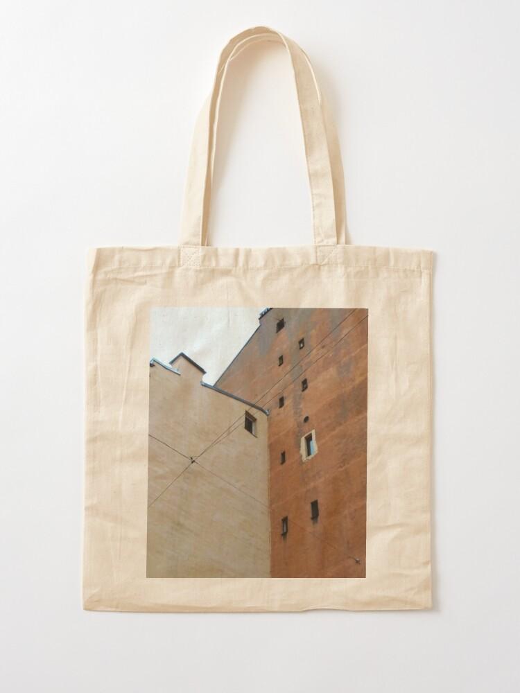 Alternate view of Живопись города, City painting Tote Bag
