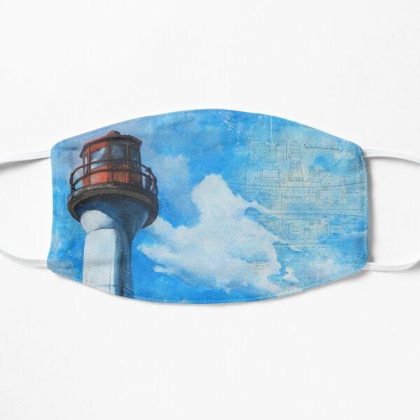 Mayne Island Cloud & Lighthouse (day) Flat Mask
