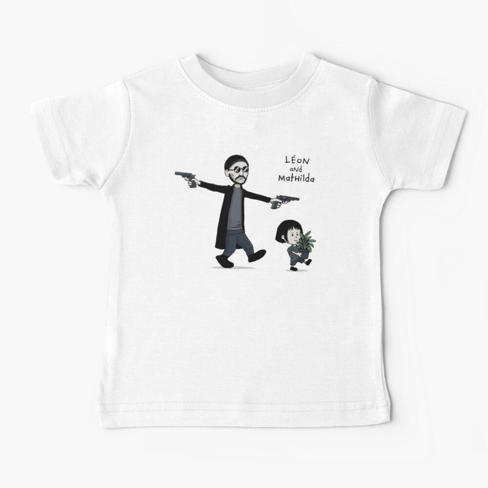 Leon and Mathilda Baby T-Shirt