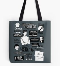 Horrible Quotes Tote Bag