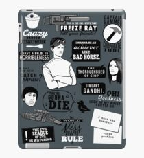 Horrible Quotes iPad Case/Skin