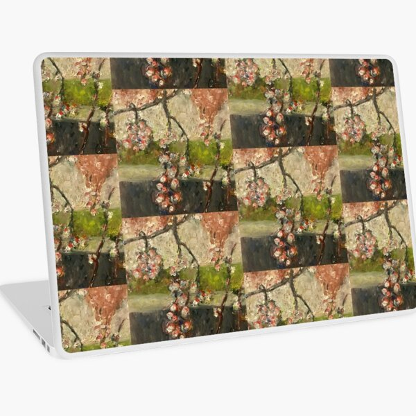 Painted Floral Laptop Skin