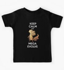 Keep Calm and MegaEvolve! AMPHAROS! Kids Clothes