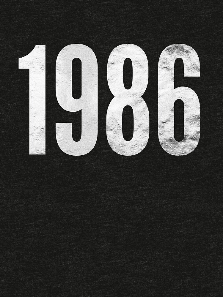 Made in the 80's 1986 the year Born in eighties  by BlackRhino1
