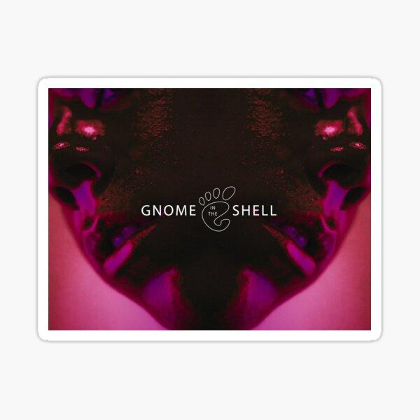 Gnome In The Shell Sticker
