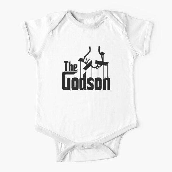 THE GODSON Short Sleeve Baby One-Piece