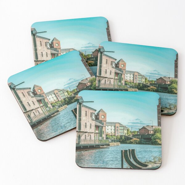 Industrial Heritage, Wigan Pier Coasters (Set of 4)