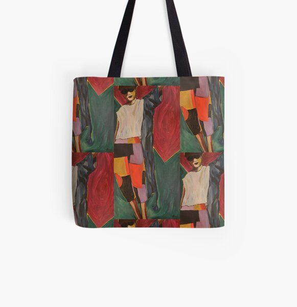 Look at Those Pants Painting All Over Print Tote Bag