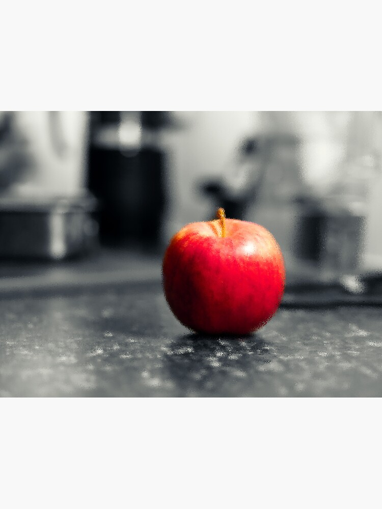 Red Apple with shades of red by santoshputhran