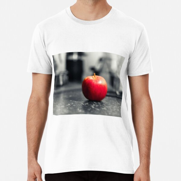 Red Apple with shades of red Premium T-Shirt