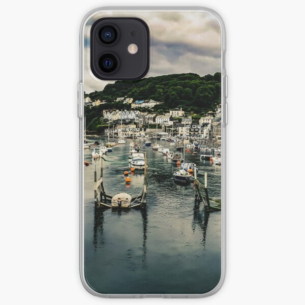 Looe Harbour, Cornwall iPhone Soft Case