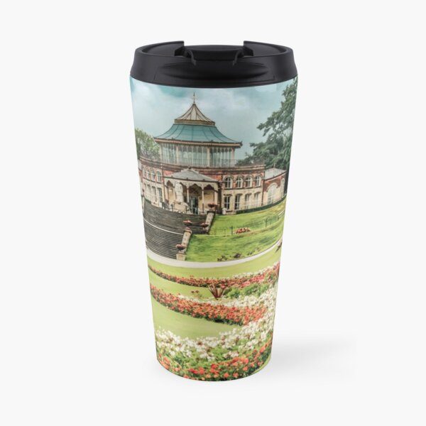 Mesnes Park, Wigan Travel Mug