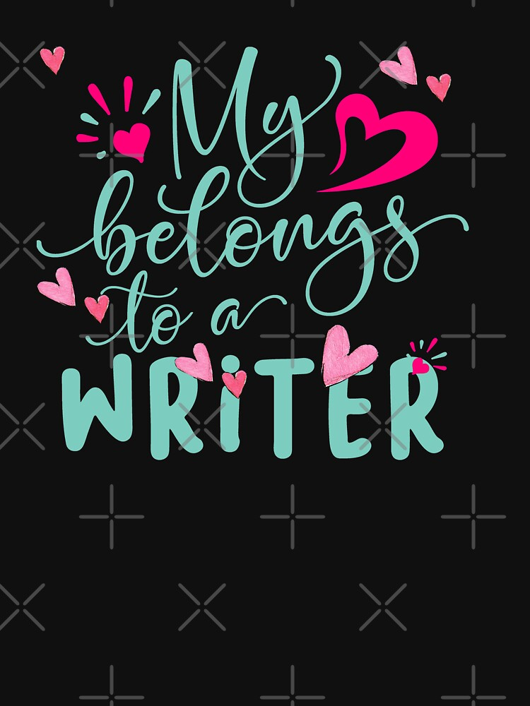 MY HEART BELONGS TO A WRITER by STRADE