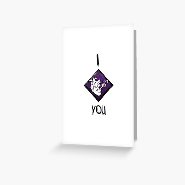 I Heart You Perk Carte de vœux