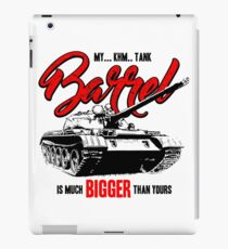 World of Tanks inspired work iPad Case/Skin