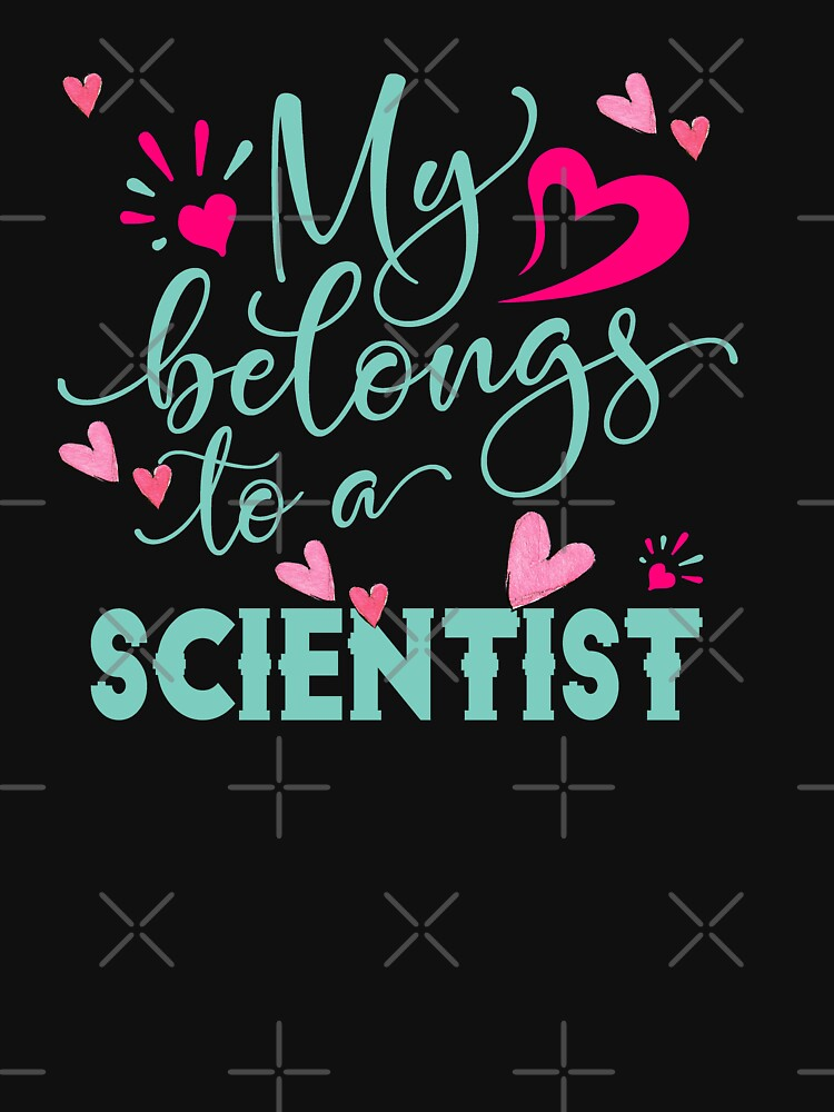 MY HEART BELONGS TO A SCIENTIST by STRADE