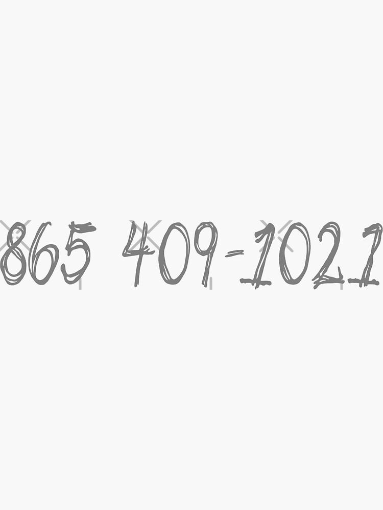 865 409-1021 (Morgan Wallen) by Dianas-Designs