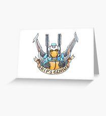 Ship's Genius Greeting Card