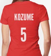 Nekoma - Kenma Kozume #5 Women's Fitted V-Neck T-Shirt