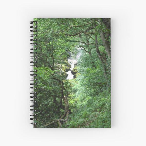 River Wharfe, Near Bolton Abbey Spiral Notebook