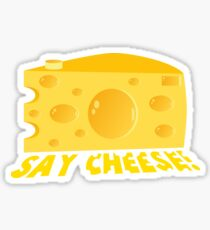 Say Cheese! Sticker