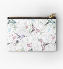 Birds and flowers Studio Pouch